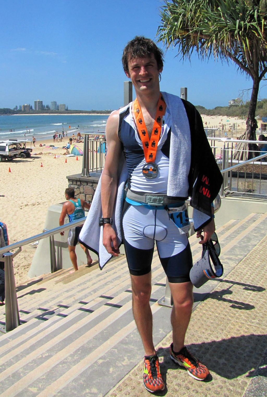 Tim Coles Ironman 70.3 Sunshine Coast 2013 -